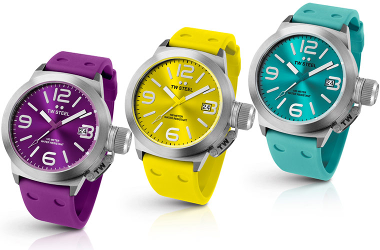 w steel unveils canteen fashion editions oversized watches make a bold splash this summer - Color Watches