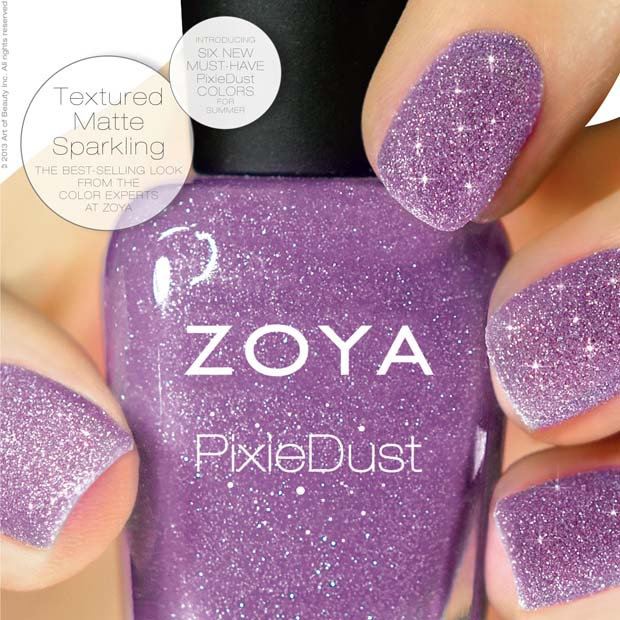 Nail News: Zoya\'s Pixie Dust Nail Polish, The Ultra, Long-wearing ...