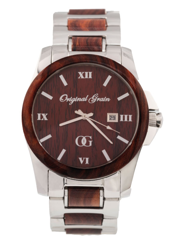 products wood front grain watches original alterra by brewmaster chrono