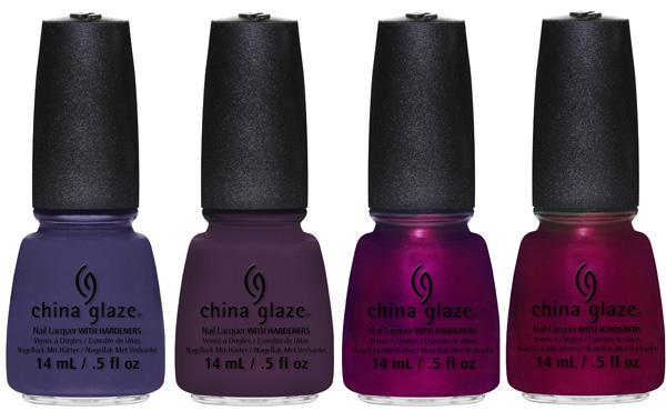 China Glaze Holiday Nail Colors