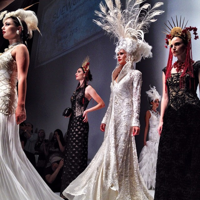 Sue wong fashion show 7