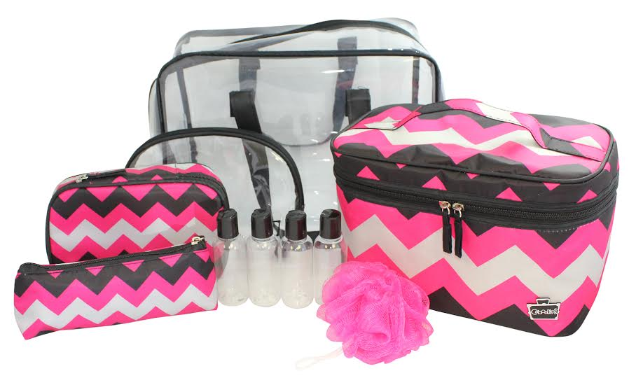 ... Sophistique 10-Piece Must Have Cosmetic Bag Set - FAB FIVE LIFESTYLE