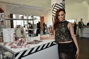 LOS ANGELES, CA - FEBRUARY 13:  J Sutta attends the Colgate Optic White Beauty Bar Ð Day 1 at Hudson Loft on February 13, 2016 in Los Angeles, California.  (Photo by Araya Diaz/Getty Images for BMF Media)