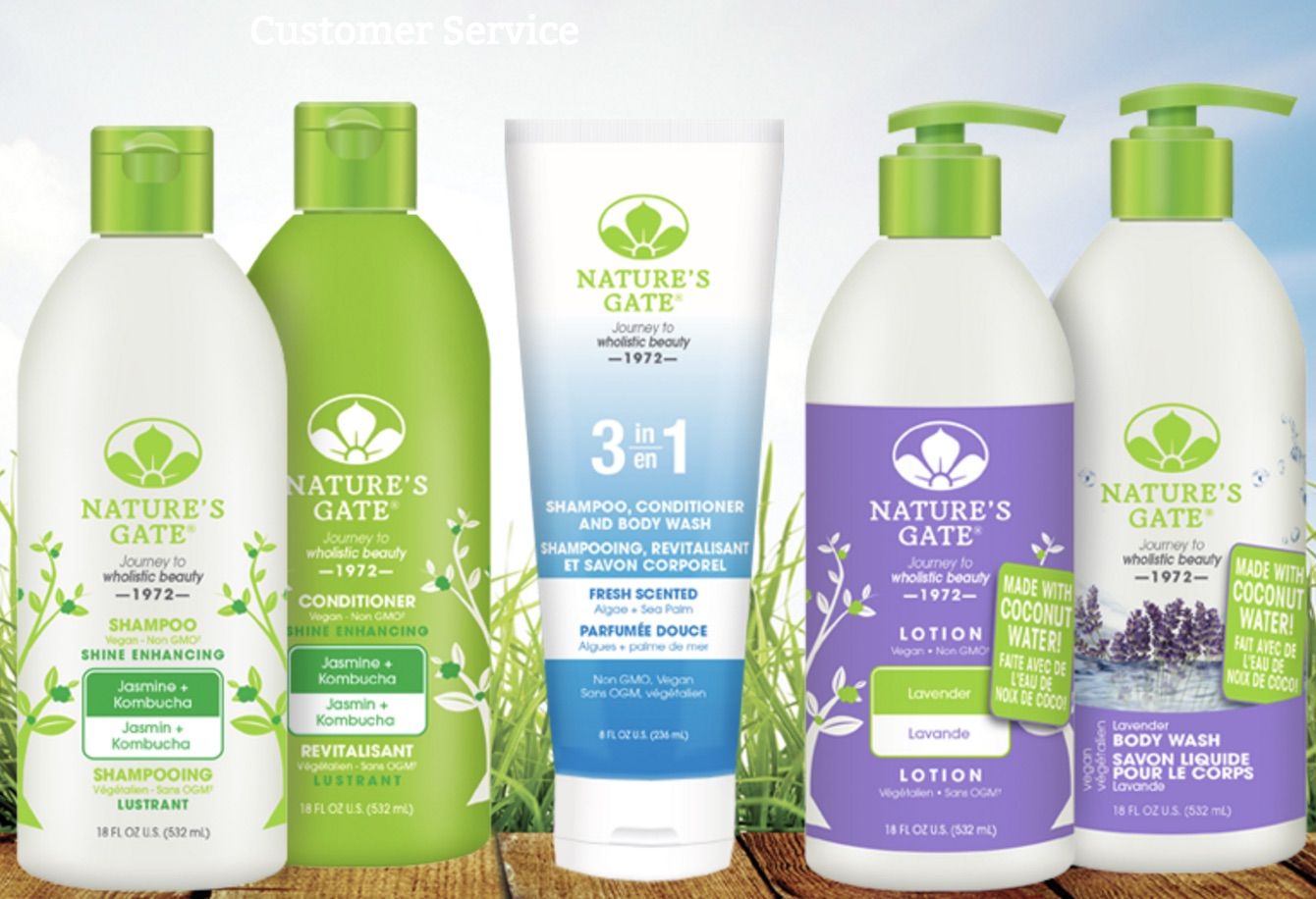 Nature S Gate Fab Natural Vegan Hair Amp Skincare Products