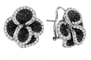 black diamond earrings jennifer lopez