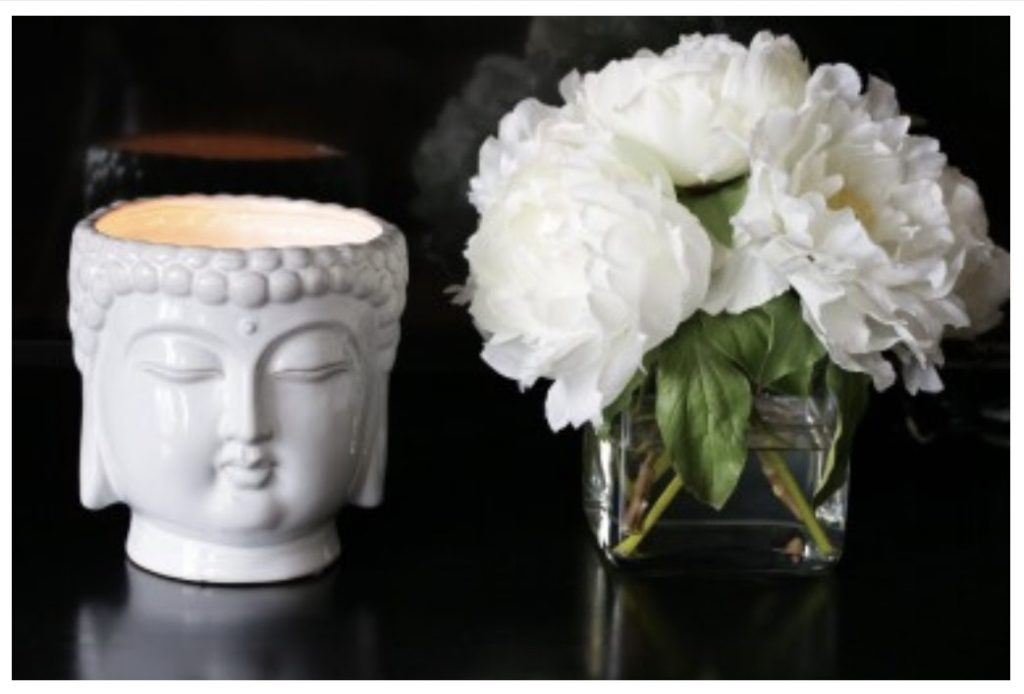 Buddha White 40oz Scented Candle