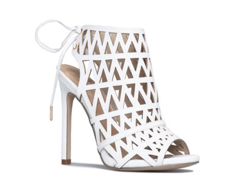shoedazzle white shoes