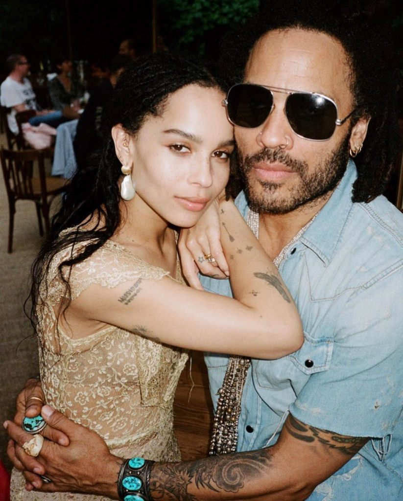 Zoe Kravitz earrings