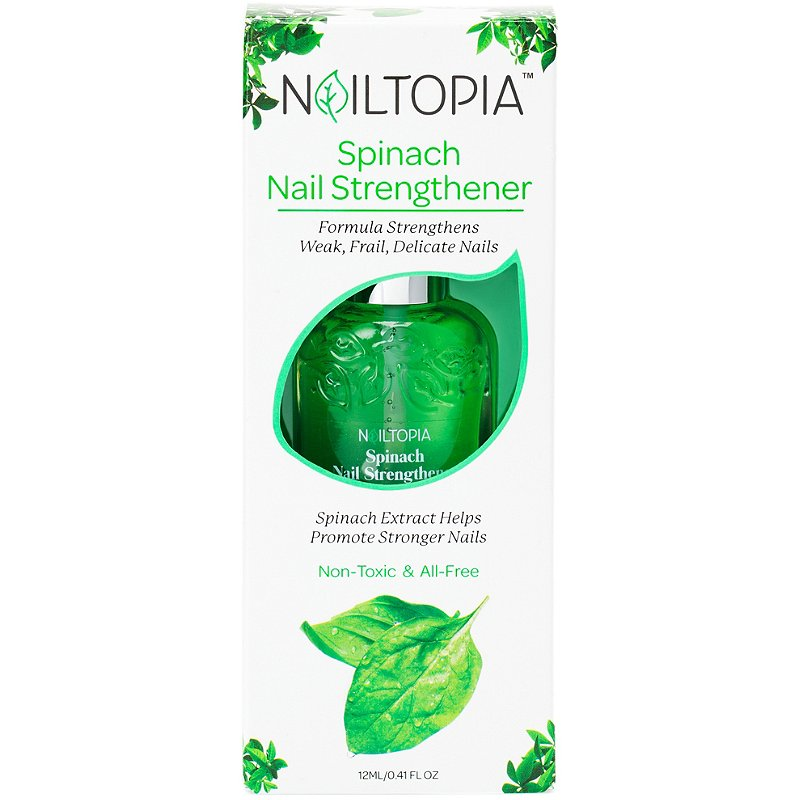 Nailtopia Spinach Nail Strengthener Our Fall Fab Favorite