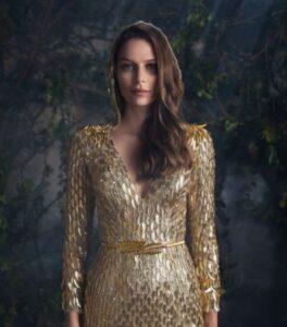 designer gold dresses