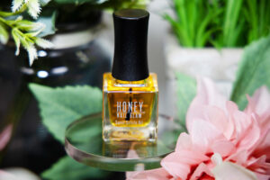 Vegan Cuticle Oil, honey nail glam