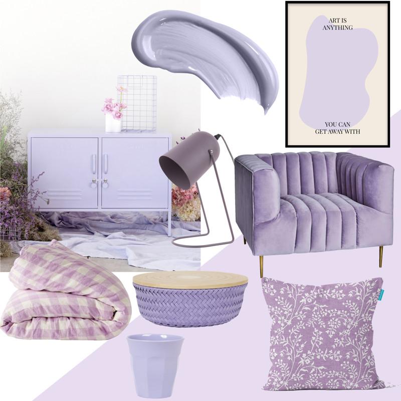 Lilac colour spring 2021