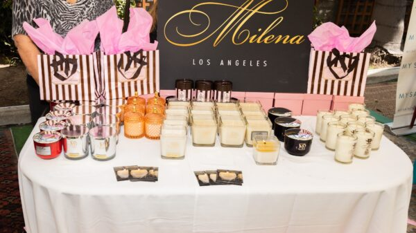 Milena gift candles