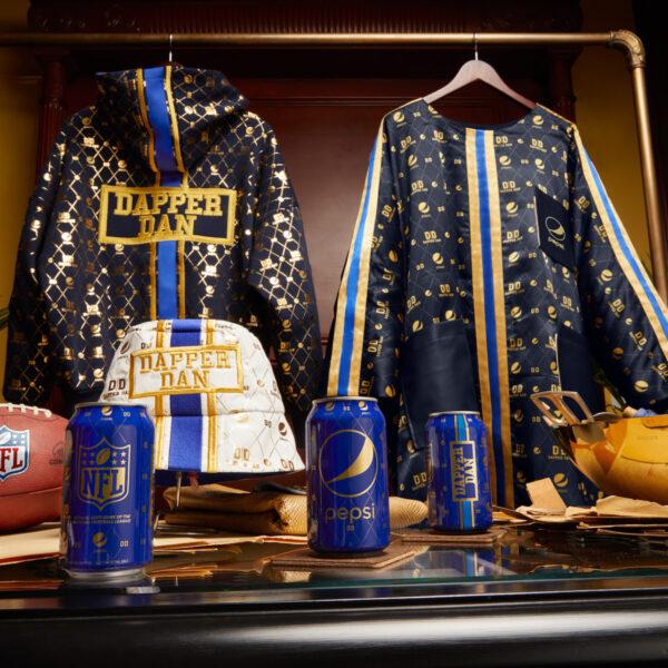 The Pepsi x Dapper Dan Football