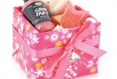 Lush Pink Holiday Gift For All Those Who Love Snow Fairies