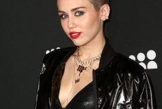 Miley Cyrus, MOSCOT, Red Hot in The TERRY!