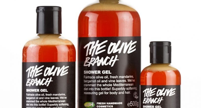 Editor's Pick of The Day: LUSH Mandarin Shower gel with skin-softening olive oil!
