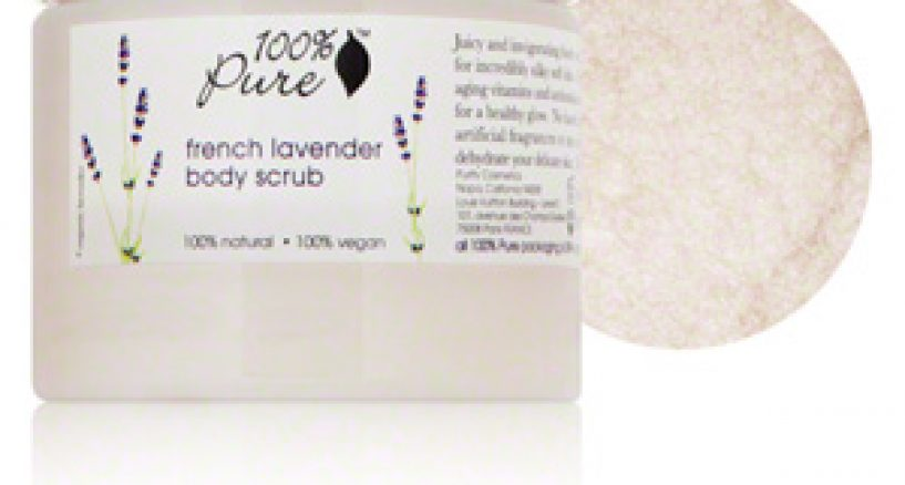 "Lavender Body Scrub ""Must Have"" from 100 Percent Pure French Lavender"