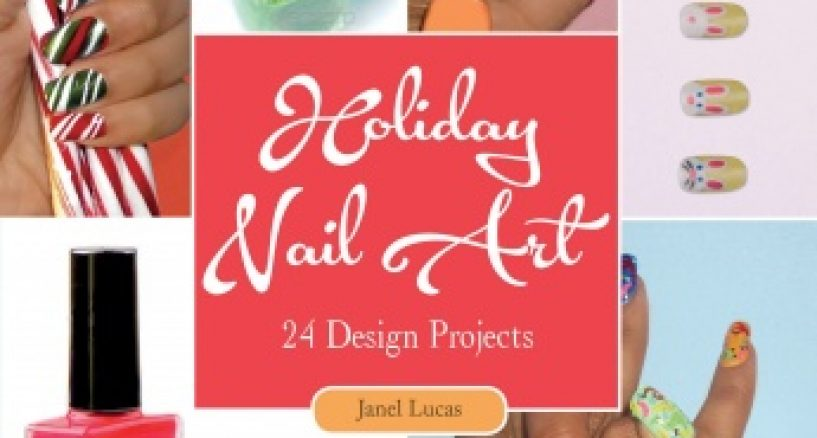 Style Book Favorite of Month: The Holiday Nail Art  24 Design Projects