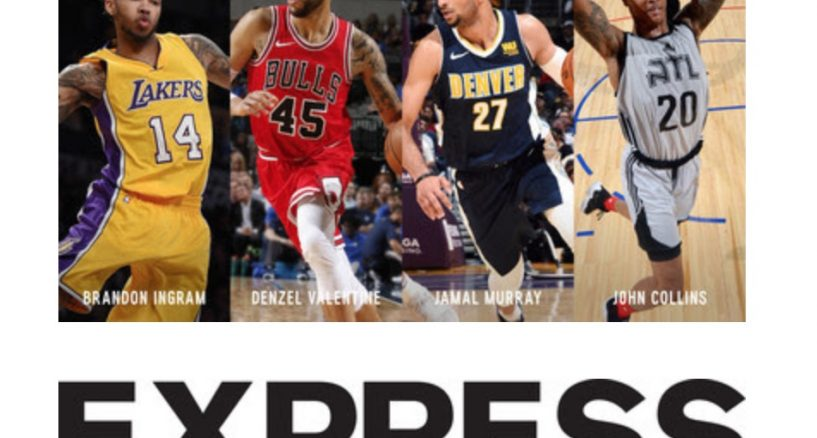 NBA Players on New Campaign With EXPRESS