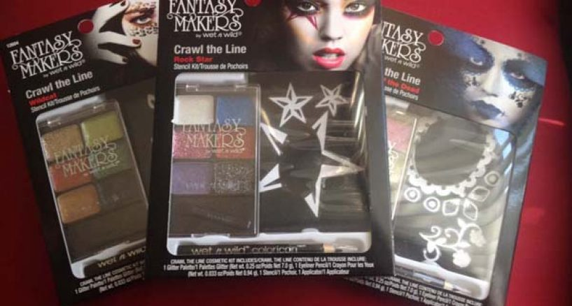 Wet And Wild Beauty News: Fabulous Fantasy Makers' Crawl The Line Kit