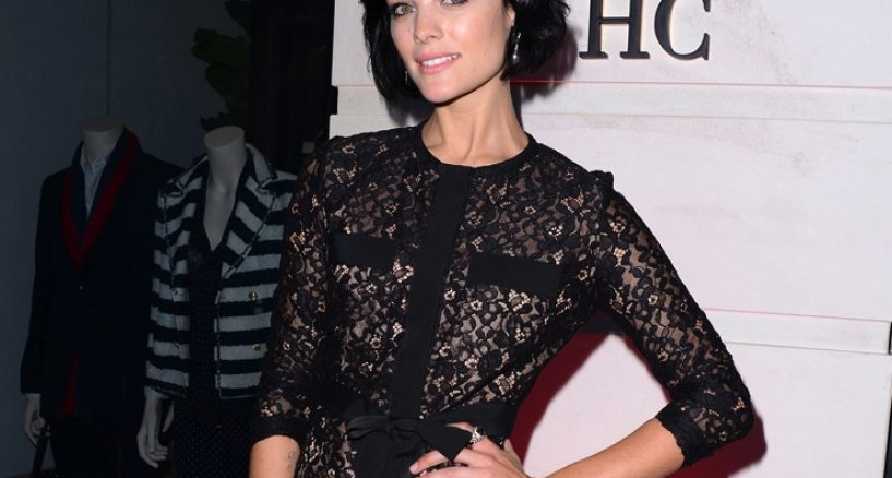 Jaimie Alexander, Michael M jewelry, Vanity Fair and CH Carolina Herrera Opening