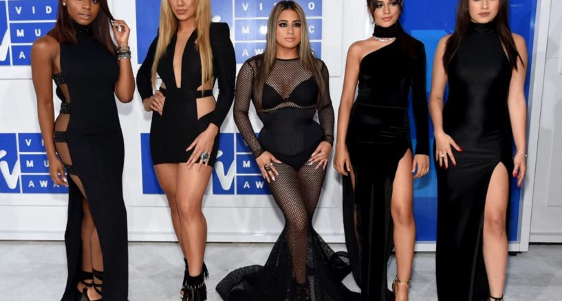 Fifth Harmony Wears Swarovski at the MTV Video Music Awards