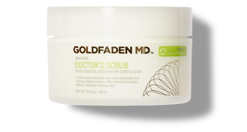 Goldfaden MD. Doctor's Scrub Skincare Beauty Pick of The Day