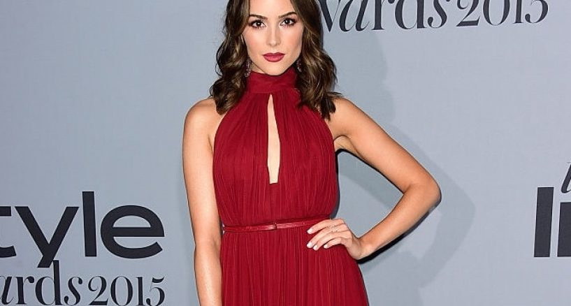 Olivia Culpo Instyle Awards Red Carpet Moment