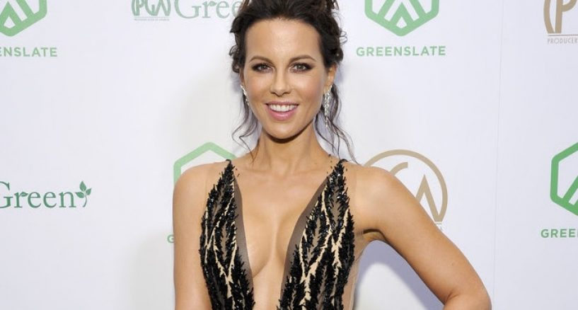 Kate Beckinsale Red Carpet Diamond Moment