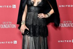 Katharine McPhee Red Carpet SAG-AFTRA Foundation Style