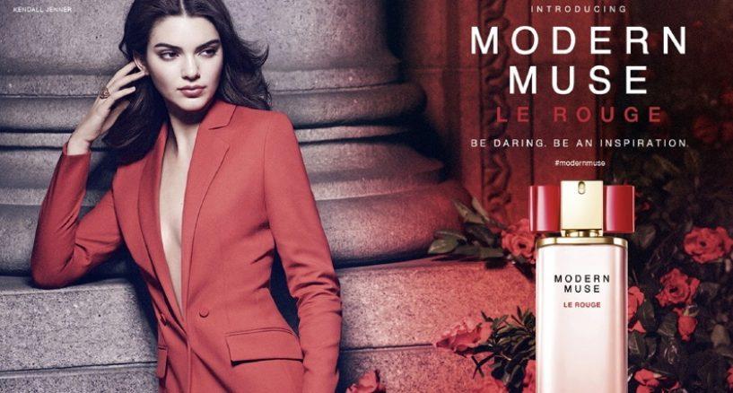 Kendall Jenner's, Estée Lauder's Newest fragrance Modern Muse Le Rouge