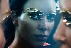 Kim Kardashian Elizabeth Taylor Cleopatra Transformation