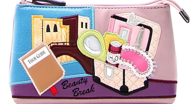 Artful, Fun Cosmetics Bags That Won't Bore By Braccialini & TUA