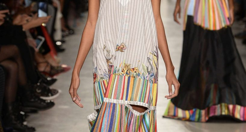 Rahul Mishra Spring-Summer 2018 collection