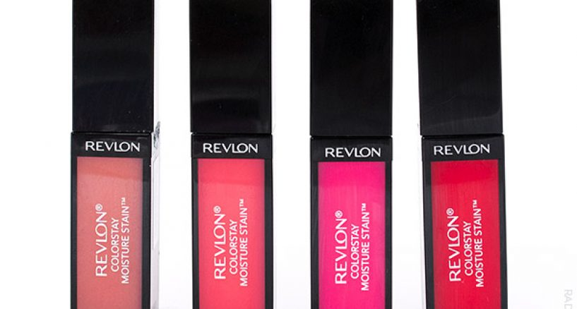 "Revlon's new Colorstay Moisture Stain ""drenches lips in glossy wet color"