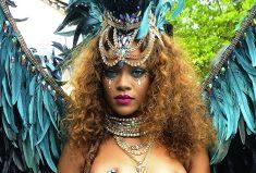 Rihanna Rocks LyChee Swimwear In Barbados