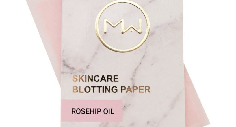 Rose Hip Oil Blotting Paper