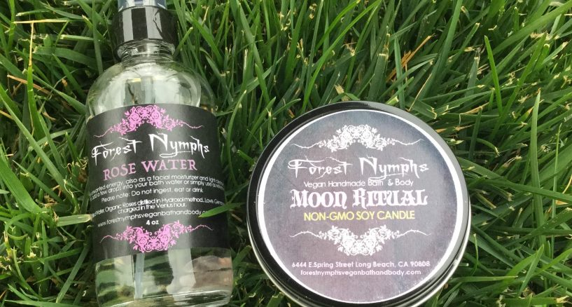 Forest Nymphs Rose Water & Candles The Perfect Gift