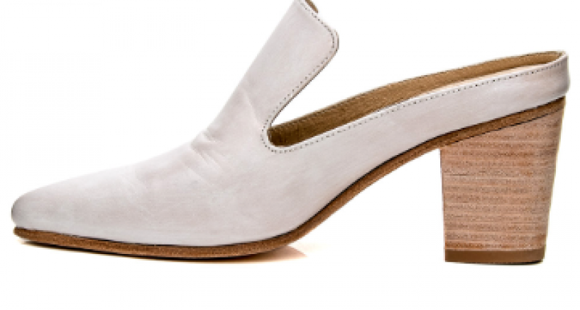 Esquivel White Aurora Mule Pump We Adore