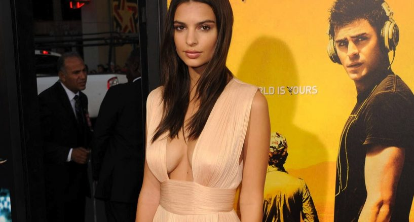 Emily Ratajkowski's Star Style Red Carpet Moment