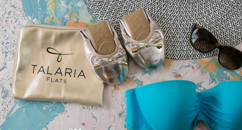 Premium Talaria Flats Champagne Shoe News