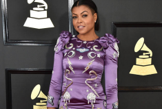 Taraji P. Henson, Red Carpet, 2017 Grammy Awards