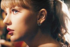 Taylor Swift Rocks Blue sapphire earrings by Anabela Chan