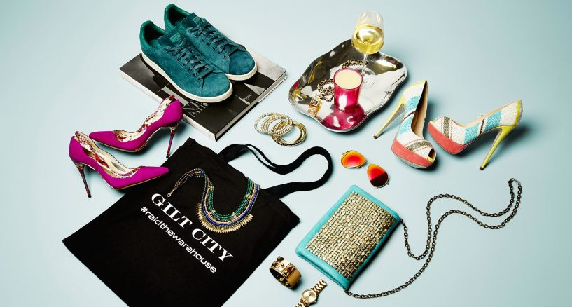 Gilt City Warehouse Sale, Great Holiday Shopping News