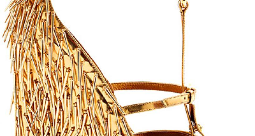 Metallic, Printed, High Heel Shoe Dazzle Summer Trends