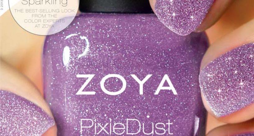 Nail News: Zoya's Pixie Dust Nail Polish, The Ultra, Long-wearing matte nail color!