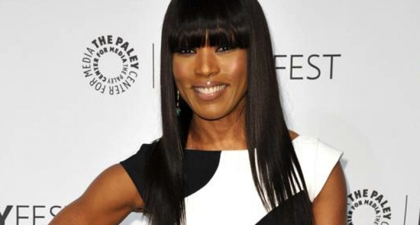 Angela Basset looks stunning on the red carpet of the 2014 PaleyFest