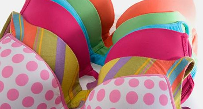 Did you know that on average a woman has a total of nine different bras in her lingerie drawer?