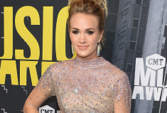 Carrie Underwood, CMT Music Awards Red Carpet Diamond Look